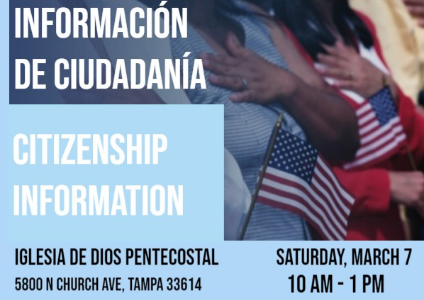 Upcoming Event: Citizenship Information
