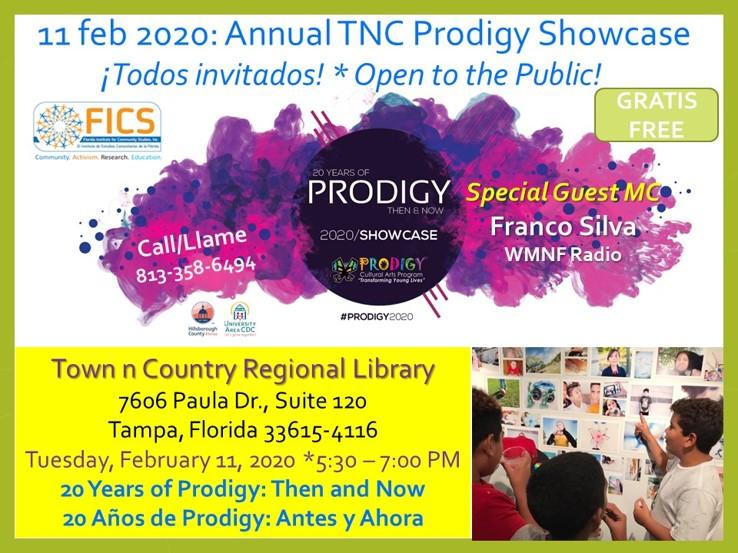 Press Release: Prodigy Showcase 2020